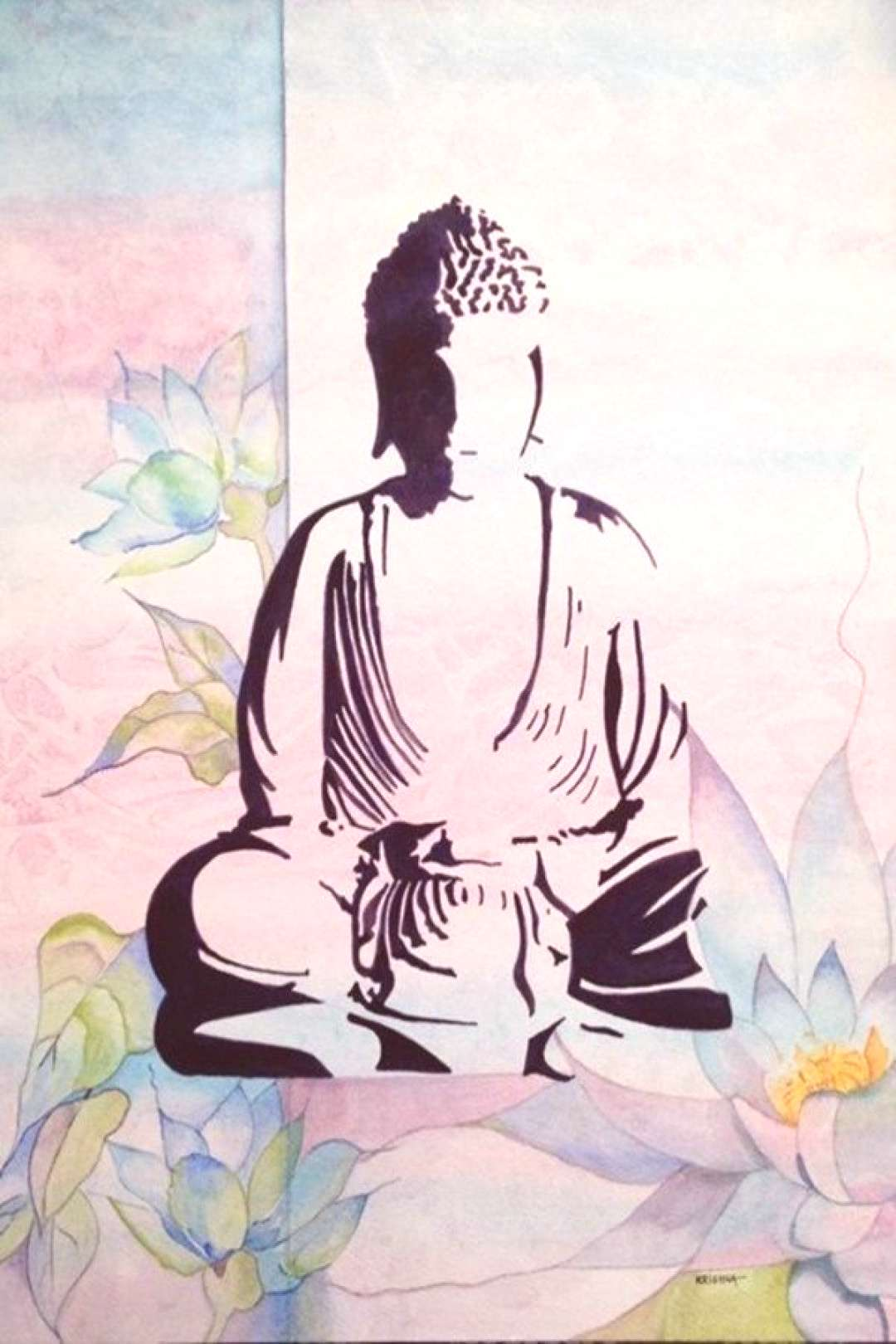 35 Peaceful Gautam Buddha Painting Ideas to Feel Calm – Buddha painting Buddha painting, Budd