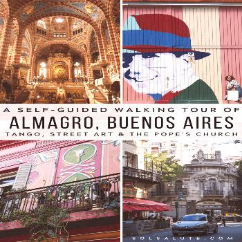Almagro Buenos Aires neighborhood guide | A self guided Buenos Aires walking tour through the Almag