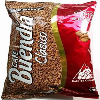 Buendia Instant Coffee - 17.6 oz (500g.) - 100% Colombian