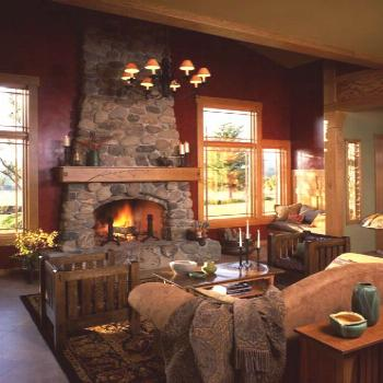 Bungalows - How to Decorate an Arts & Crafts Icon -  The Craftsman Bungalow has timeless appeal.  P