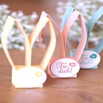 Bunnies Easter favors with instructions - ColorSpell#bunnies