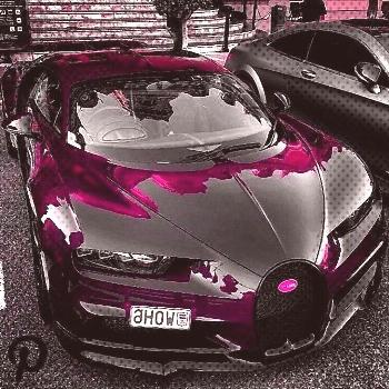 chrome bugatti chiron! You have to love this! . Purple chrome bugatti chiron! You have to loPurple