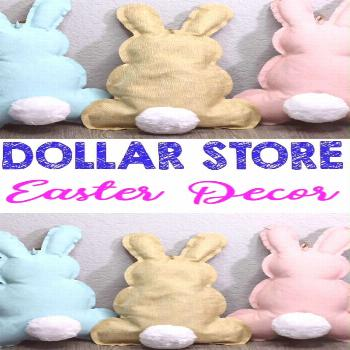 Dollar Store Spring Decor - Simple DIY Crafts - How to Make Easter Bunnies - Simple Home Deco... Do