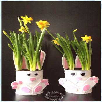 Easter bunnies make it easy - 25 cute Easter bunnies - Easter Basket Ideas tips basket ideas crafts