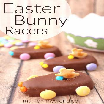 Easter Make some cute Easter treats for kids this year with these Easter Bunny Racers! These no bak