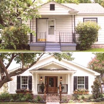 House Styles Exterior Bungalows Curb Appeal 34+ Ideas For 2019