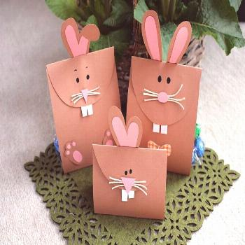 Instructions Easter gift: Easter bunnies make gift packaging yourself VBS Hobby -  DIY gift idea: E