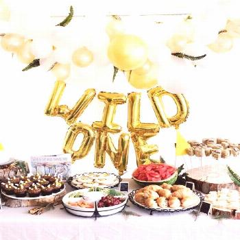 One First Birthday Party Decorations Lace Burlap Bunting Banner Sign with Pink T...-#Banner One Fir